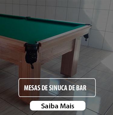 Mesa de Sinuca de bar